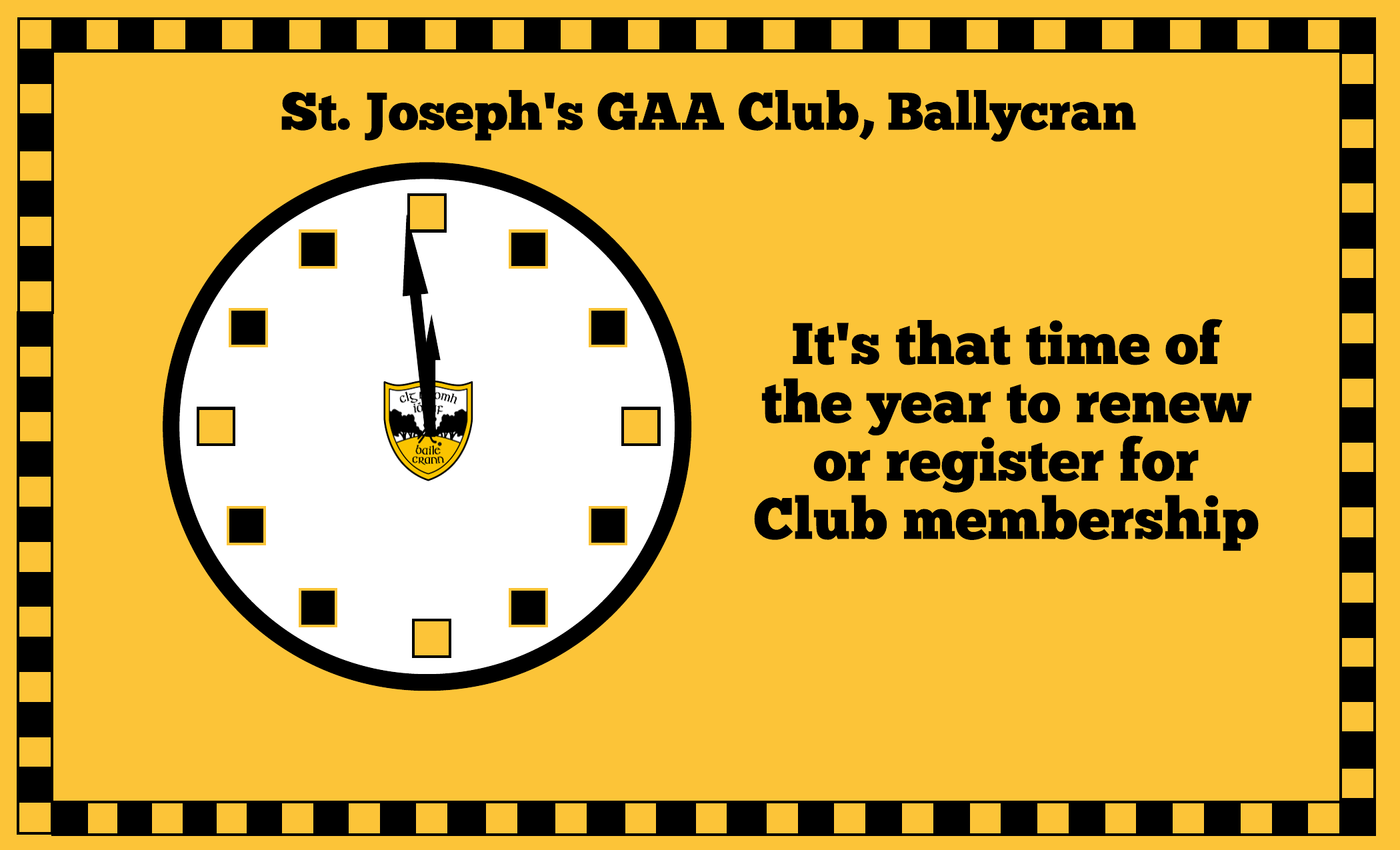 Membership renewal is upon us once again