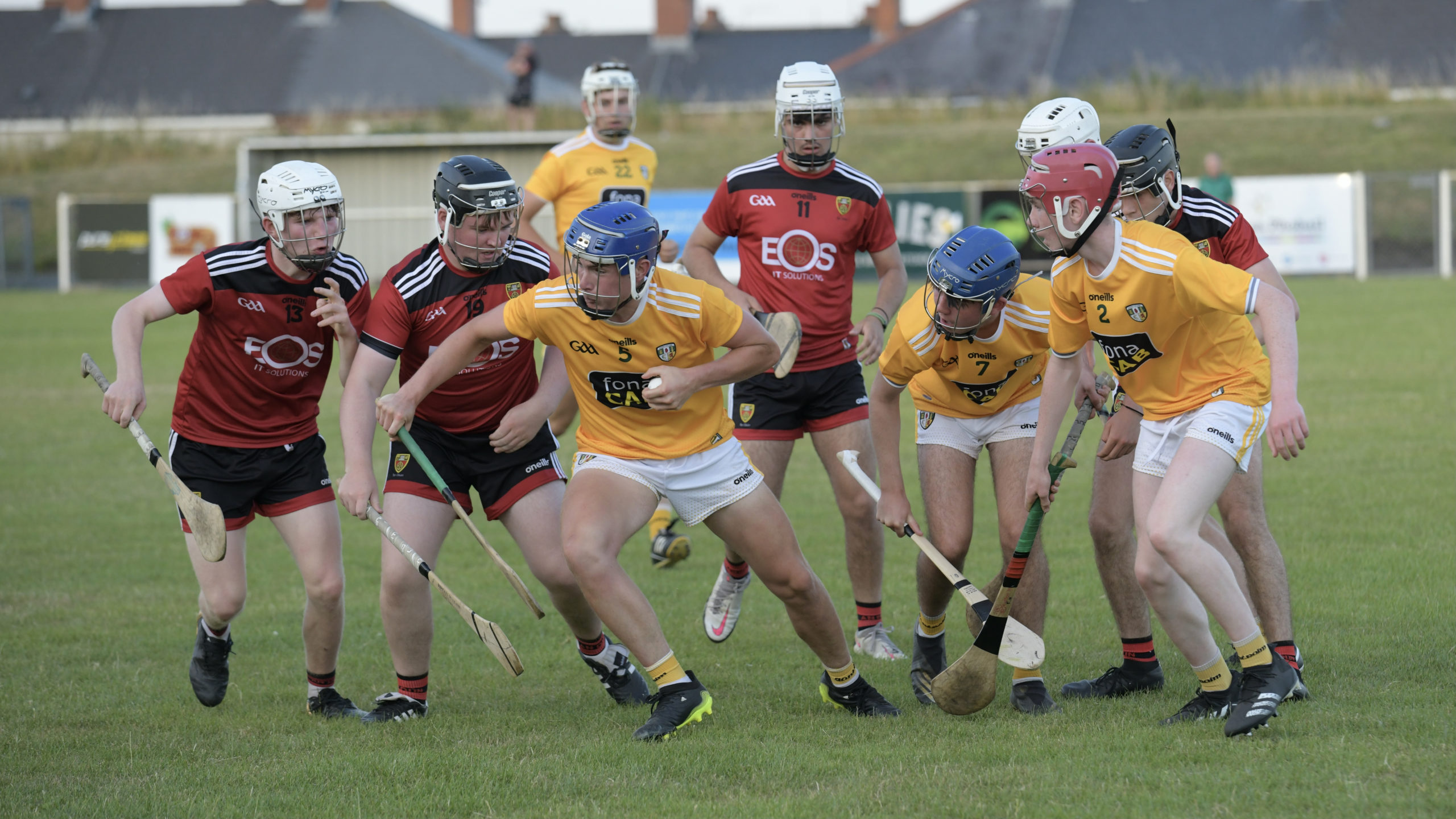 Antrim's hurling train lift the Peader Ó Liatháin Cup as Down worked hard to 'mind the gap'