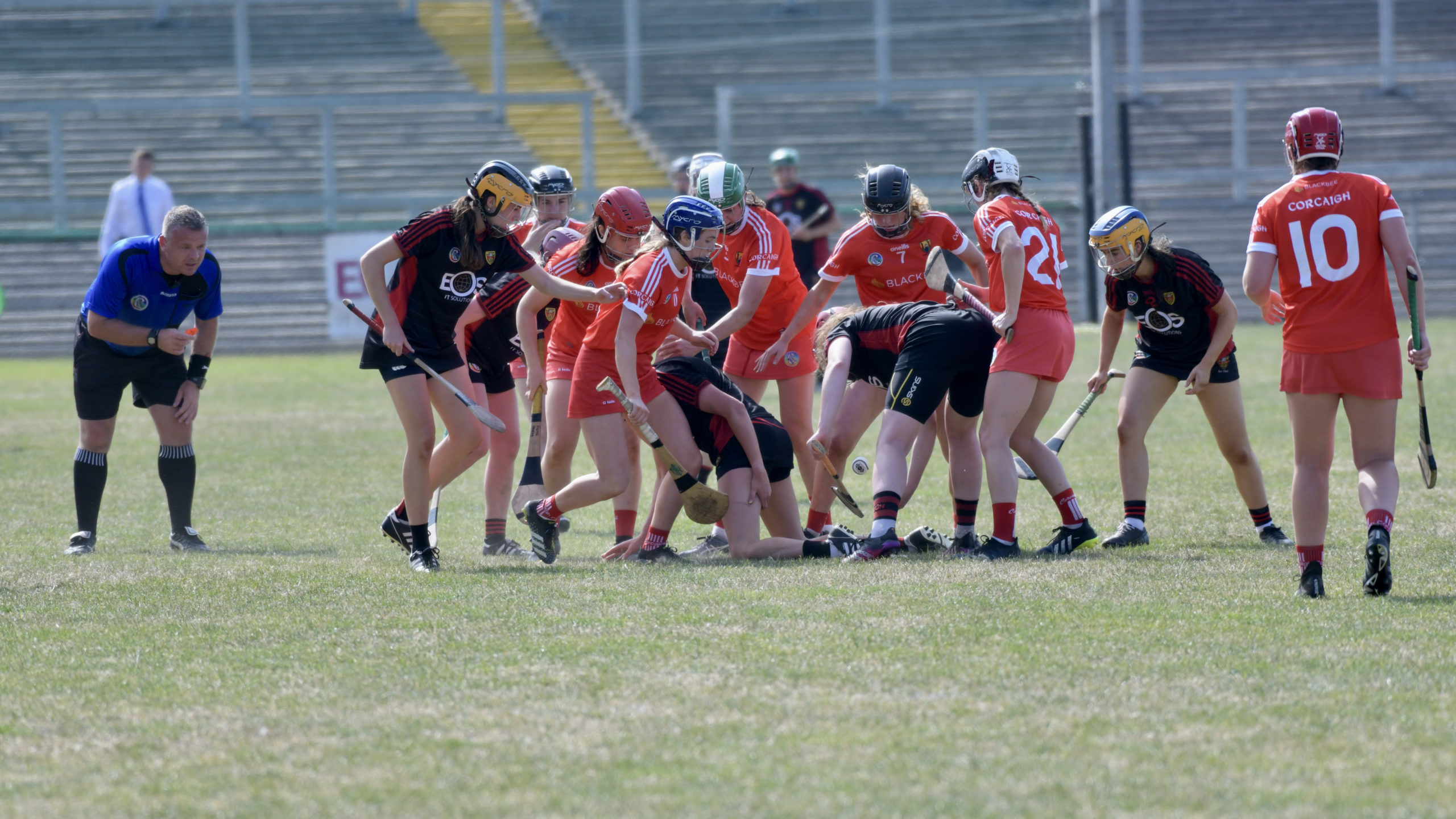 Down battled Cork in the blistering sun as supporters enjoyed the spectacle