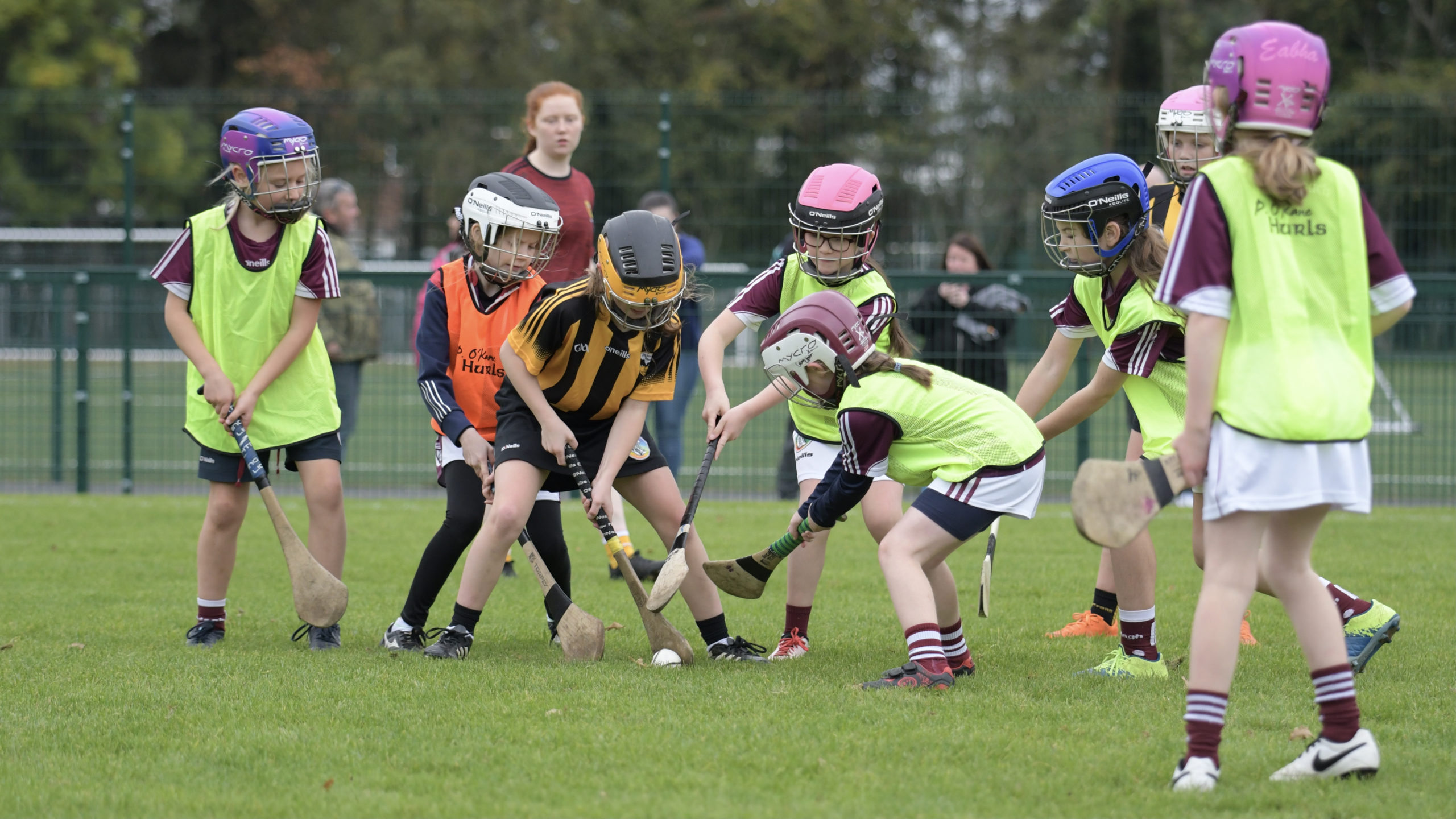 The last underage camogie blitz takes us up to halloween